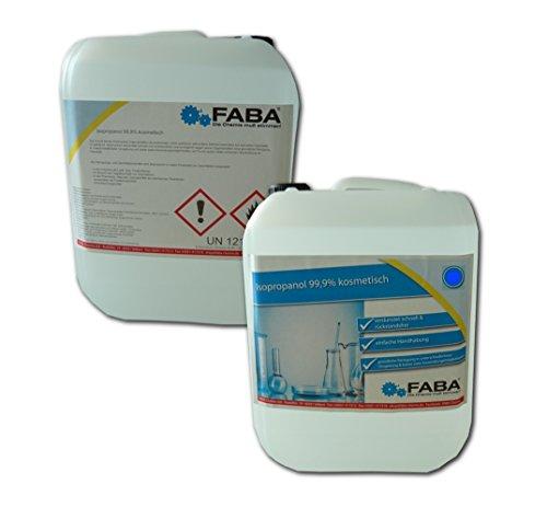FABA Isopropylalkohol IPA 99,9% 2 x 10 Liter
