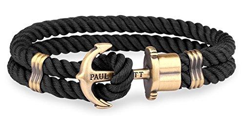 Paul Hewitt Unisex-Armreifen Edelstahl PH-PH-N-B-XXL