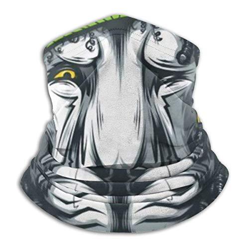 N / A Reggae Rasta Lion Cuello Pañuelo Multifuncional Bandana Lavable Pañuelo De Cabeza Elástico Polainas De Cuello para Mujer Hombre