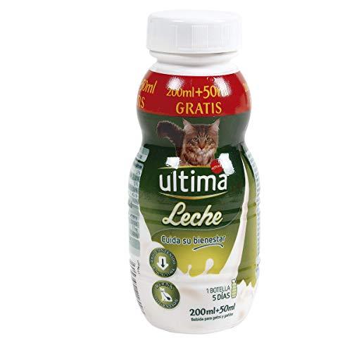 ULTIMA leche para gatos y gatitos botella 250 ml