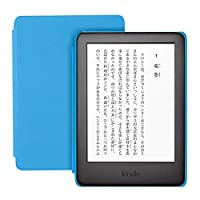 Kindle キッズモデル 1,000冊以上の子ども向けの本が1年間読み放題 ブルーカバー