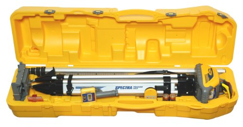Spectra HV101GC-1 Package with GR151 Grade Rod, 10ths, HR320 Receiver, C59 Rod Clamp and System Case