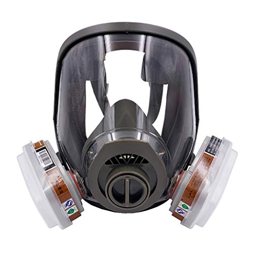 Gas Mask with Activated Carbon Air Filter, Protect Against Gas,Paint,Dust,Chemicals