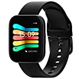 FitTrack Atria 2.0 Health Smartwatch - Smart Watch for Sport Workout, Fit Watch for Women, Men, Kids - Water Resistant, Long Battery Life, Track Heart Rate, Sleep, Breathing (43mm)