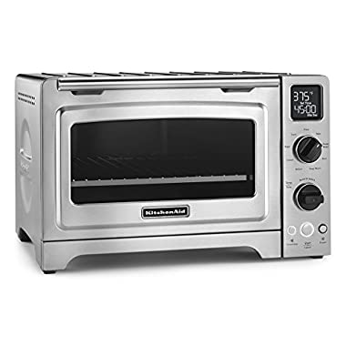 KitchenAid KCO273SS 12  Convection Bake Digital Countertop Oven - Stainless Steel
