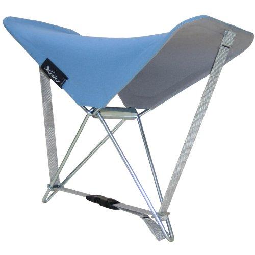 AMAZONAS AZ-3099006 Y-Ply - Silla de Playa Plegable, Color Azul [Importada de Alemania]
