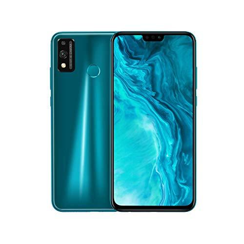 Honor 9X Lite Smartphone, 4GB RAM 128GB ROM Cellulare, 6.5''Full HD+ 48MP Telecamera,NFC Dual Sim,Sblocco viso e Impronte Digitali, con Auricolare Classico,Verde