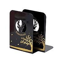 メタルブックエンド 家庭やオフィス用 棚用ブックエンド 本立て 本やCD用