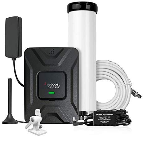 weBoost Drive 4G-X 470510 Cell Phone Signal Booster, Marine Bundle, Cell Signal Booster Kit for Boat & Marine Applications, Boosts 4G/LTE/3G Signals – Maximum Cell Signal Boost Allowed by FCC