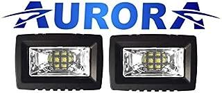 Aurora 2 Inch LED Light with Wide Angle Scene beam - 1800 Lumens