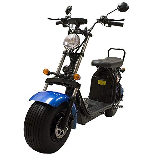 CityCoco Matriculable (II) 1.55KW/20AH (Doble Batería) Azul Negro