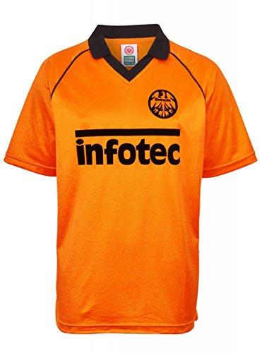 Score Draw Eintracht Frankfurt Trikot Away 1981 Herren L