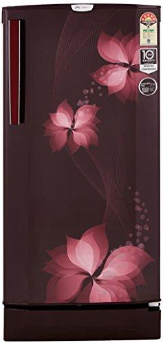 Godrej 190 L 5 Star Direct Cool Single Door Refrigerator(R D EPro 205 TAI 5.2 BRZ WIN, Breeze Wine, Inverter Compressor)