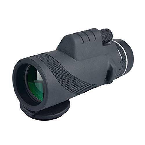 40x60 Monoculaire telescoop Dual Focus Optics Zoom Day & Night Waterproof Black