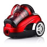 Lpiotyuxcq aspirateur sans Sac Aspirateur 2600W Galvanic Batter Vacuums Highschool Power Power Power House Vaccum Nettoyant (Color : Red)