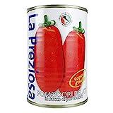La Preziosa(ラ・プレッツィオーザ) <6缶セット> ラ・プレッツィオーザ ホールトマト缶 400g×6缶