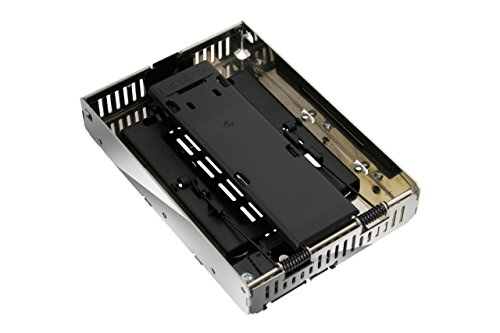 ICY DOCK 2,5 Zoll (6,4cm) zu 3,5 Zoll (8,9cm) SATA SSD/HDD Konverter EZConvert Air MB382SP-3B