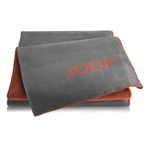 Joop! Plaid Uni-Doubleface | Flannel-Rooibos - 150 x 200