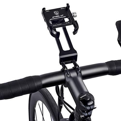 MidGard Universal Bike Manillar Stem Soporte para Bicicleta para teléfonos móviles, Smartphones, navegadores por satélite, etc.con Soporte para GoPro, ActionCams