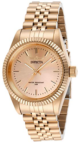 Invicta 29417 Specialty Damen Uhr Edelstahl Quarz roségoldenen Zifferblat