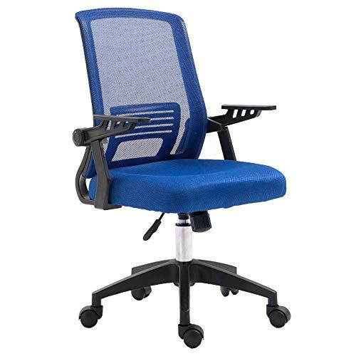 Slaapkamer Racing Gaming-computer bureaustoel rugleuning ademend spons, verstelbare armleuningen, opslag, onderstel zwart, gewicht 150 kg, meerkleurig Rosa Roja