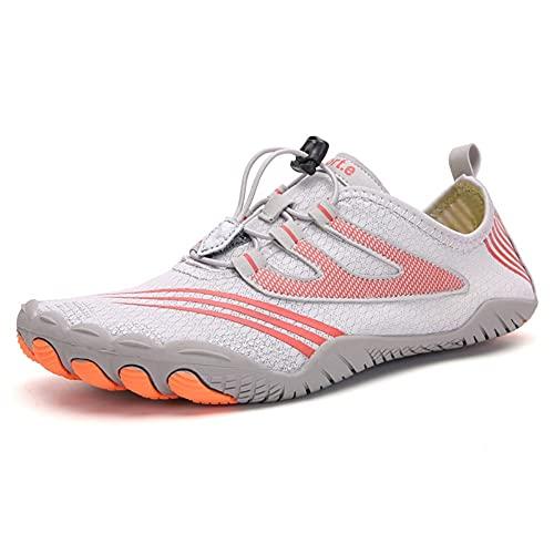 Wapipey Zapatos de aptitud Correr de verano Running Soled Soled Soled Fitness Zapatos Stretch Paño Calcetines Zapatos Mujeres Playa para hombre Zapatos de natación al aire libre Natación Adulto Zapato