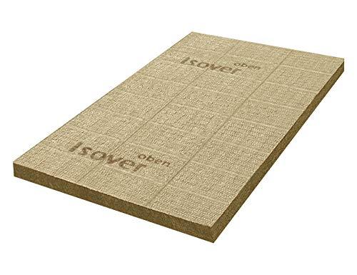 Isover 4003973086985 Placa de aislamiento para suelos de tejado, Marrón