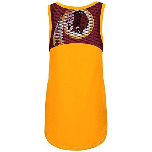 G-III Sports Washington Redskins Women's in The Stands Tank Top Small
