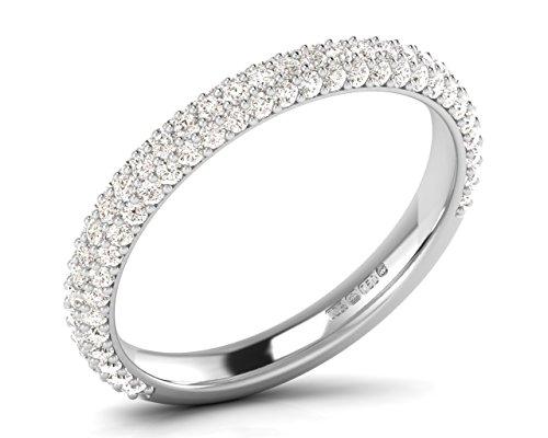 finediamondsrus - Platin Rundschliff Feines Weiß +/Top Wesselton (F) Diamant