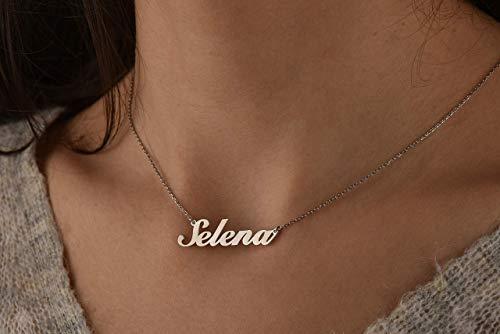 Collar Con Nombre Personalizado  marca Vivaring