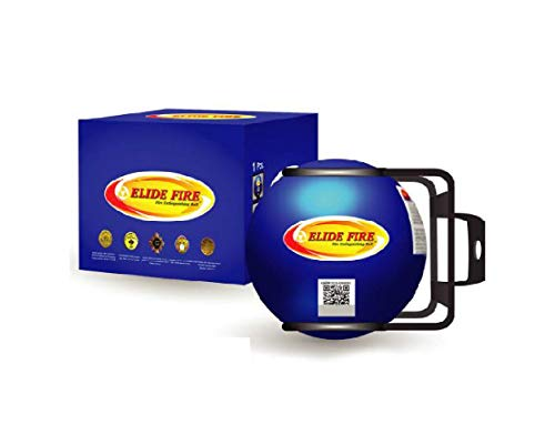 Blue Mini ELIDE FIRE Extinguishing Ball Automatic Surveillance Firefighting 4'