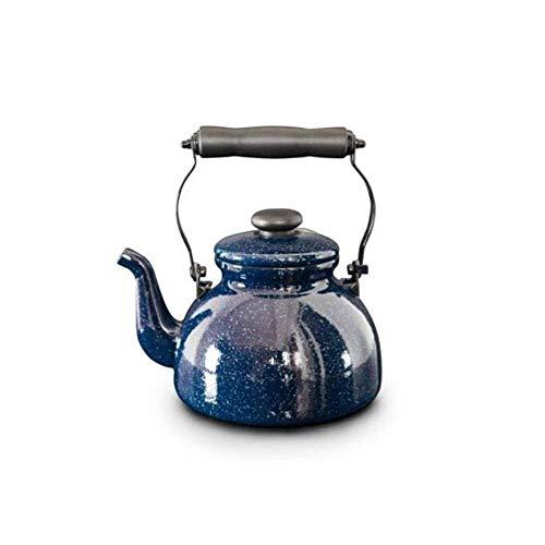 HYY-YY 2L Fluitketel Theepot Zelfklinkende waterkoker Geschikt voor inductie Cooker Gas Gebruik Blauw