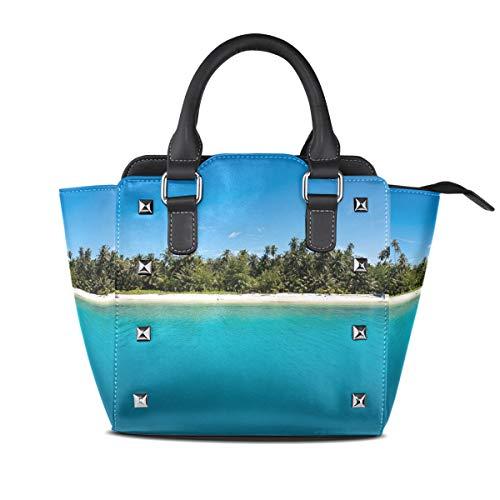 MalpLENA Handtasche / Arbeitstasche / Arbeitstasche mit blauem Himmel
