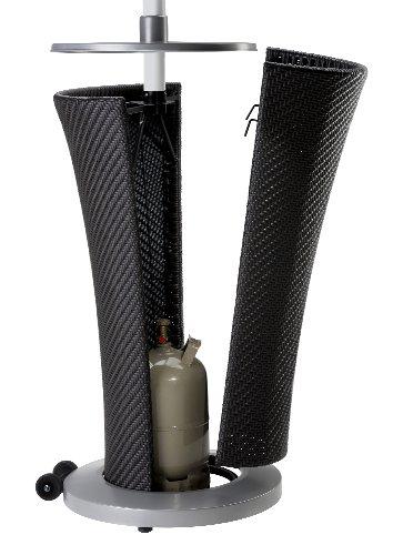Landmann 12025 Gas-Heizstrahler mit Geflecht-Unterbau; - 2