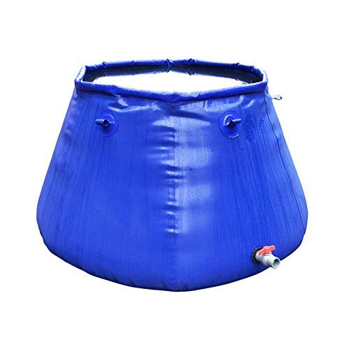 yuanfeng Capacidad Bolsa Agua Blanda Engrosamiento Portátil Tanque Agua Coche Bolsa Agua Plegable Bolsa Almacenamiento Anillo Tracción Portátil Agrícola No Es Fácil Arcilla Azul