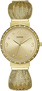 GUESS Womens Quartz Watch, Analog Display and Stainless Steel Strap - W1083L2