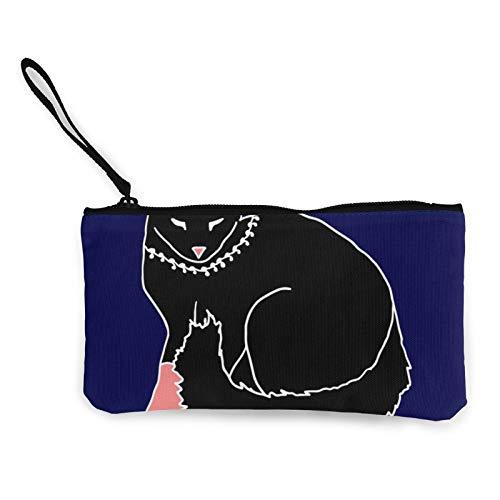 Moneda de lona, bolso de dormir con cremallera, bolsa de cosméticos de viaje, multifunción, bolsa de maquillaje, bolsa de teléfono móvil, paquete de lápices con asa
