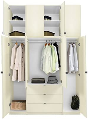 Amazon.com: Ultra Time Empty Wardrobe Clothes Wardrobe ...