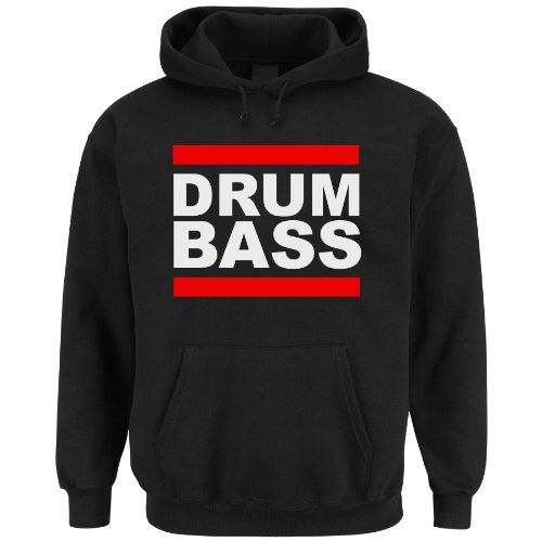 Drum and Bass Hoodie (S)