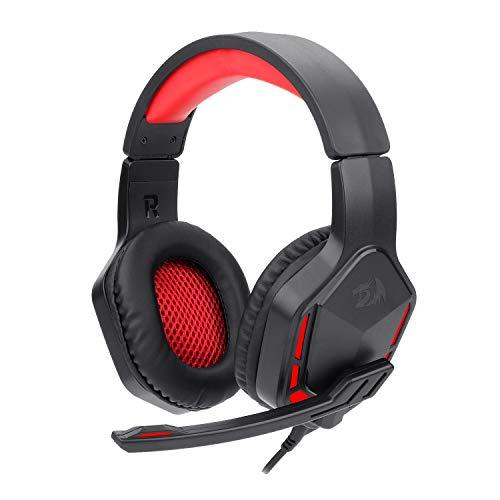 Headset Gamer Redragon Themis 2 Preto e Vermelho P2 Sem LED H220N
