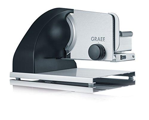 Oferta de Graef SKS902EU Cortafiambres, 185 W, Aluminio, Negro/Acero Inoxidable