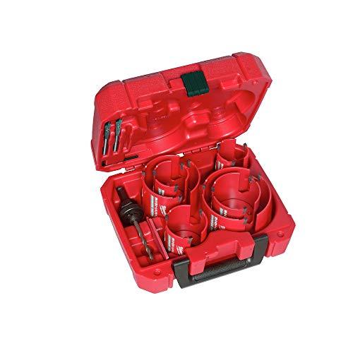 MILWAUKEE'S 49-56-9290 10 PC BIG HAWG Hole Saw w/Carbide Teeth Kit New