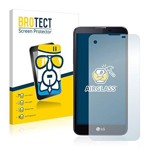 brotect Pellicola Protettiva Vetro Compatibile con LG X Screen Schermo Protezione, Estrema Durezza 9H, Anti-Impronte, AirGlass