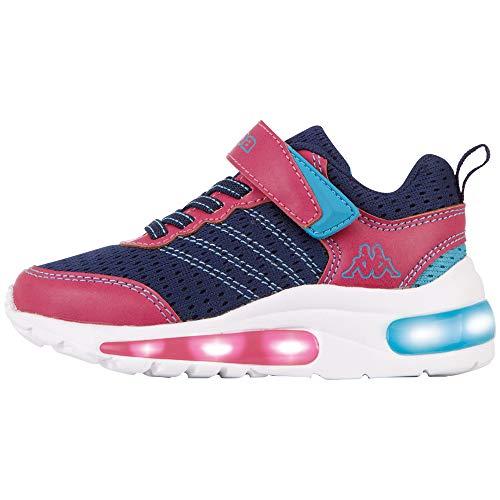 Kappa Unisex Kinder Tulani Sneaker, 6722 Navy Pink, 32 EU