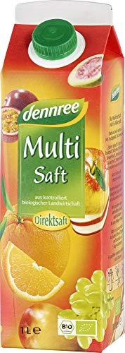 dennree Bio Multisaft Elopak (6 x 1000 ml)