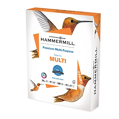 Hammermill Premium Multipurpose 24lb Copy Paper