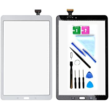 Coffee Color : White XIAOMIN Touch Panel for Galaxy Tab E 9.6 // T560 // T561 Replacement