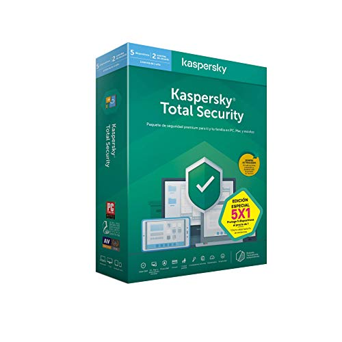 Kaspersky Software ANTIVIRUS 2020 Total Security 5...