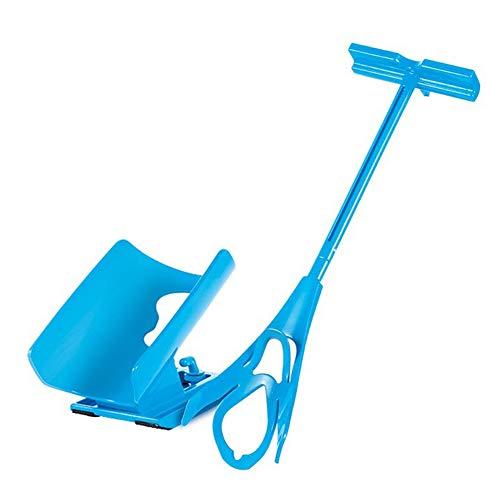 LYAmber - Calcetín de ayuda para discapacidad, fácil de poner y quitar, color azul