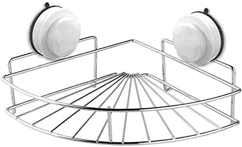 ZGNB Estante de baño Estante de Ducha Estante de baño de Acero Inoxidable Cuarto de Ducha Caja de Almacenamiento de baño cosmético Estantes Estantes Gancho multifunción Toallero Plata